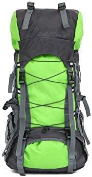 aDream Durable Sac d'alpinisme professionnel de grande capacité 65L Sac d'alpinisme extérieur imperméable (vert de fruit) | Ingénieux Et Pratique