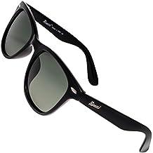 Rivacci Gafas de Sol de Moda Polarizadas estilo Wayfarer