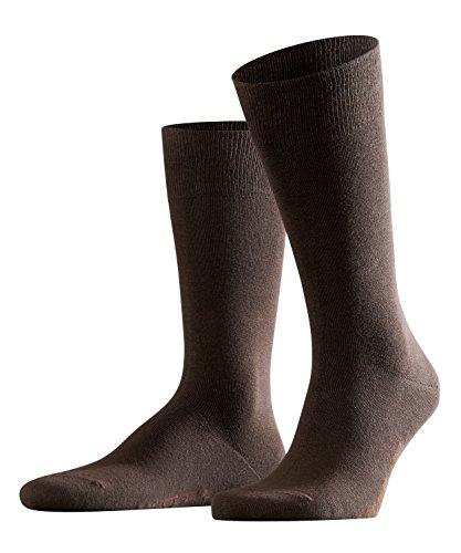 FALKE Herren Socken Swing 2-Pack, Baumwollmischung, 2 Paar, Braun (Brown 5930), Größe: 43-46