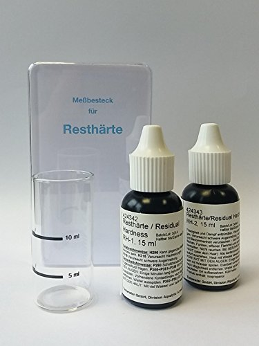 Wasserhärte Resthärte Testkit Meßbesteck 418514