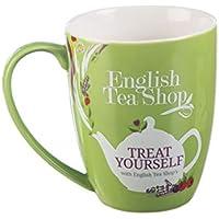 English Tea Shop Trátese con el té inglés Compre la Taza de cerámica Verde/la