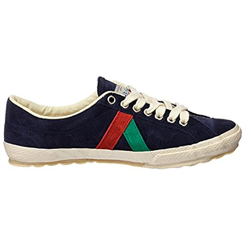 El Ganso Zapatillas Deportivas para Hombre. Match, Berliner y Low-Top. Sneaker Walking Unisex (44 EU, (Berliner) Suede Dark Blue)