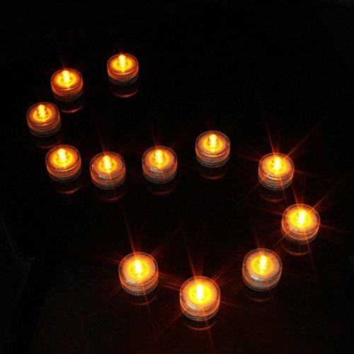 keesin Flameless Vela de Luz 12pcs imprägniern LED de té luz de vela eléctrica para Fiesta de Boda de decoración