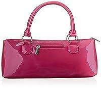 Primeware Insulated Wine Bottle Clutch Bag, Pink