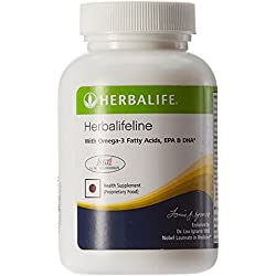Herbalife Herbalifeline Tablets to maintain a healthy cardiovascular system by maintaining cholesterol and triglyceride levels_60 capsule