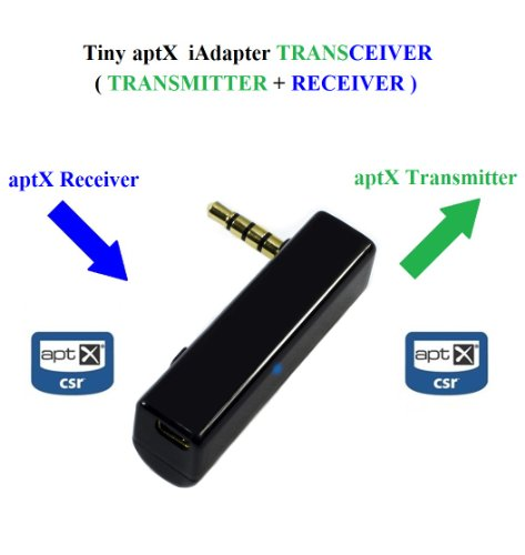 KOKKIA iTRANSCEIVER : iAdapter aptX Bluetooth Sendeempfänger (NEUE VERSION) Der ULTIMATIVE UNIVERSAL 3,5 mm Mini aptX Bluetooth Stereo Sendeempfänger mit höherer Datenrate, Zwei-in-eins Bluetooth-Stereo-Sender UND Bluetooth-Stereo-Empfänger. Funktioniert mit ALLEN iPods/iPhones/iPads, Android/Windows/Samsung SmartPhones/Tablets, PCs/Macs, allen Musikgeräten mit 3,5 mm Audiobuchsen, etc. Belkin Mp3