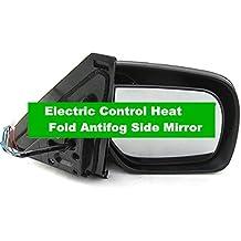 GOWE cromado eléctrico Control calor Fold lado espejo antivaho con señal lámpara para Mitsubishi Pajero Montero Shogun 4IV después de 2007