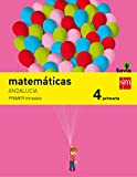 Matemáticas. 4 Primaria. Savia. Andalucía  - Pack de 3 libros - 9788467575415