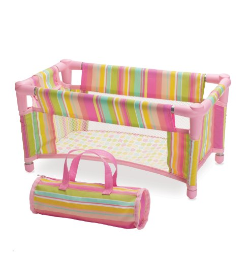 Manhattan Toy Baby Stella Take Along Travel Crib Pack and Play Accessory for Nurturing Dolls 41 5sjFWcCL
