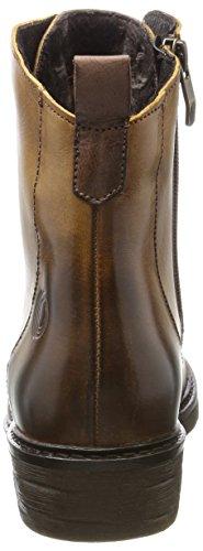 Be Natural 25202, Bottes De Combat Pour Femmes Brown (cognac)
