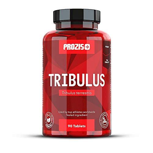 Prozis Tribulus Terrestris, Booster de Testostérone 1000 mg x 90c - Source d'énergie naturelle - Augmente la libido et l'endurance - Améliore la croissance musculaire et la performance sexuelle !