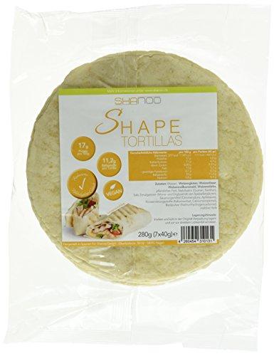 Shape Low Carb 7 Tortillas á 40 Gramm, 1er Pack (1 x 280 g)