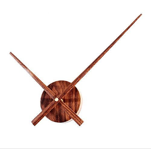 Retro Holz Uhrwerk DIY Uhr Uhr Extra Große Holz Uhr (Leere Uhr)