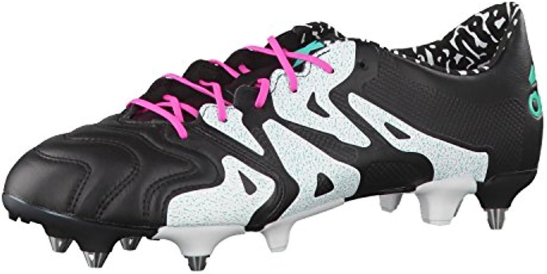 adidas Herren X 15.1 SG Leather Fußballschuhe  Bunt