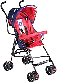 Mee Mee Stylish Light Weight Baby Stroller (Red)