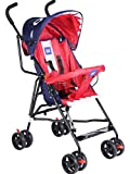 Mee Mee Stylish Light Weight Baby Stroller (Red Purple)