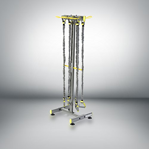 Reebok RSRK-TB Power Tube Rack, Grigio
