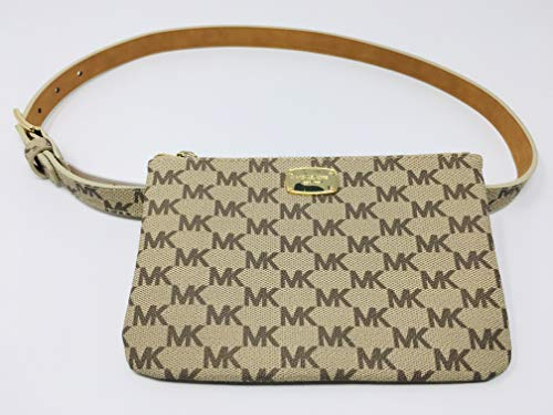 New Michael Kors Logo Fanny Pack Belt Wallet Size Medium 31-34