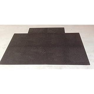 aruma® Schlagzeugboden Drum Mat, Teppich, Matte Abmessung 2600 x 1500 - 1900 x 8 mm