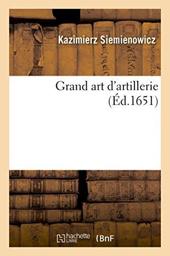Grand art d'artillerie,