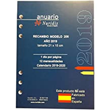Amazon.es: luxindex recambio agenda