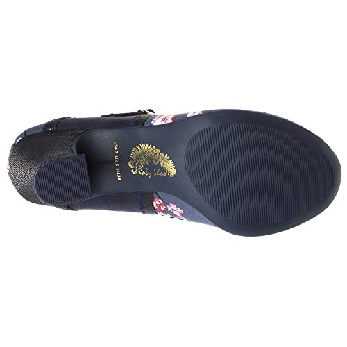 Ruby Shoo Rosalind Damen Schuhe Navy - 4