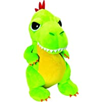 Li'l Peepers 14342 Tyrannosaurus-Rex Dinosaurier von Suki Gifts, Grün 23 cm