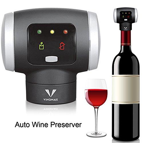 Bomba de vacío para vino (tapón con LCD indicar automático Saver