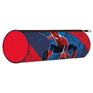 KIDS EUROSWAN – Portatodo Spiderman Marvel cilindrico