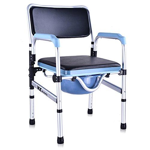 PIGE Portable Bedside Toiletten/Nehmen Sie EIN Bad Old Man WC Anwendbar für ältere Menschen, Schwangere Frauen, Menschen mit Behinderungen