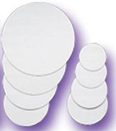 Oasis Supply OA WCB 7R-12 Tortenkreis, 17,8 cm, Weiß, 12 Stück