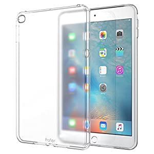 iPad Mini 4 Hülle, Profer TPU Schutzhülle Tasche Case Cover Ultradünn Kratzfest Weich Flexibel Silikon Bumper für Apple iPad Mini 4 7.9 Inch 2015 Model