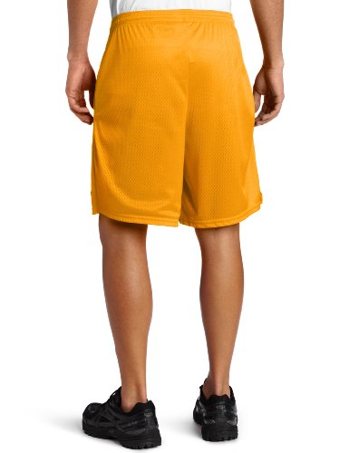Champion Long Mesh Men's Shorts With Pockets Sun Gold