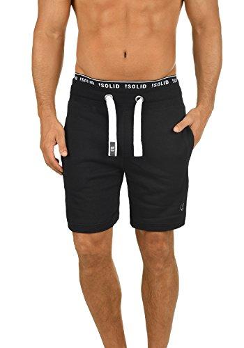 SOLID BennShorts Sweatshorts, Größe:S;Farbe:Black (9000) (Sweat Shorts Herren)