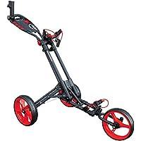 Masters Golf - Icart Uno - 3 Ruedas Uno Clic Flexiones Carro Gris/Rojo