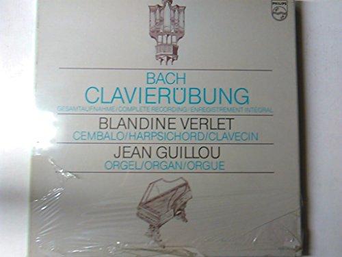 BACH, Johann Sebastian: Clavier-Ubung - Complete recording--BACH Johann Sebastian-GUILLOU Jean (organo); VERLET Blandine (clavicembalo)-PHILIPS-PHI 6769750-Vinyl - Amazon Musica (CD e Vinili)
