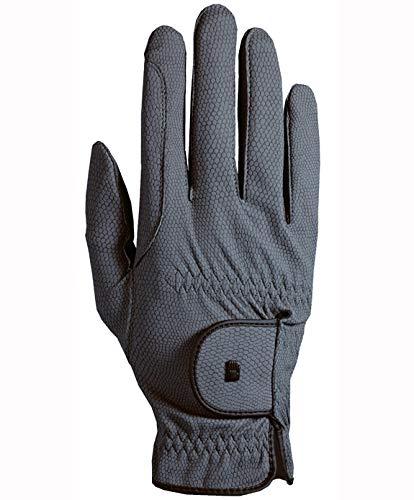 Roeckl Roeck Grip Handschuh, Unisex, Reithandschuh, Anthrazit, Größe 11