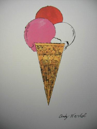 Granolitographie von Andy Wahrol Ice Cream Dessert