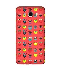 Beard-Colour-15 Samsung Galaxy J5 Case