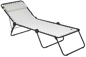lafuma couchette siesta l avec cannage phifertex. Black Bedroom Furniture Sets. Home Design Ideas