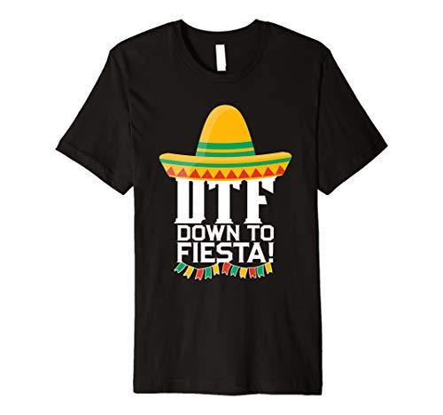 Down To Fiesta Cinco de Mayo-Kostüm-T-Shirt Partei-Geschenk