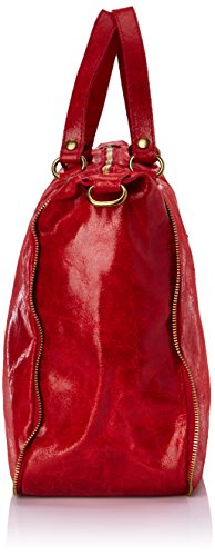 Marina Rossini Jonquille, Borsa Donna Rosso (cuir rouge)