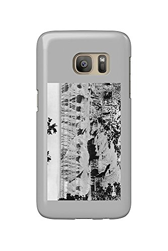 Grand Canyon National Park, Arizona - North Rim Bright Angel Photograph (Galaxy S7 Cell Phone Case, Slim Barely There)