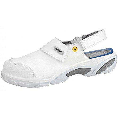 Abeba 34555-48 Crawler Chaussure de sécurité sandale Taille 48 Blanc