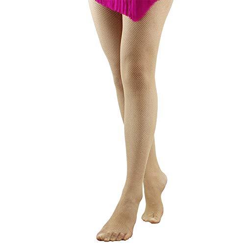Dance you ballo collant danza rete calze pantacollant alta elasticità per donna e ragazza formazione brindisi s/m