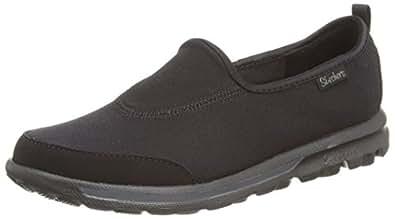 Skechers Gowalk Girls' Multisport Outdoor Shoes - Black (Black), 9.5 UK Child (27 EU)