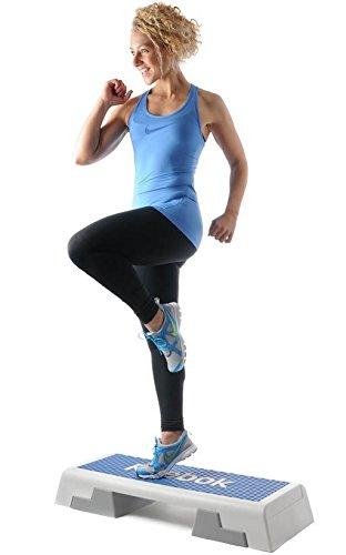 Reebok Step blau weiss Stepper 7.5 kg Steppbrett Step Aerobic Training Fitness - 4