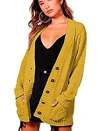 Cardigan it amp; Abbigliamento Amazon Aran Maglioni Donna Felpe xatz8w