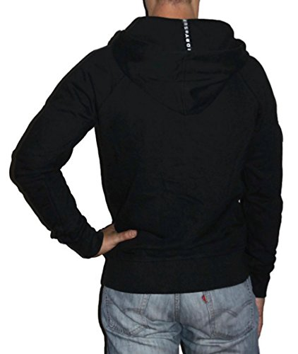 Superdry Herren Sweatshirt Surplus Ziphood Jet Black