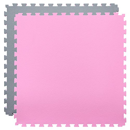 eyepower-Exercise-Puzzle-Mat-20mm-thick-EVA-foam-Protective-Flooring-90x90cm-for-fitness-sport-reversible-Gray-Pink